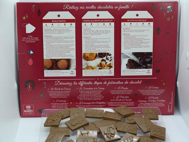 Calendrier avent chocolat artisan Beauvais Oise chocolatier
