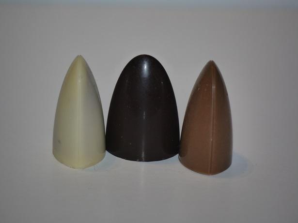 Caramel sale trois couleurs