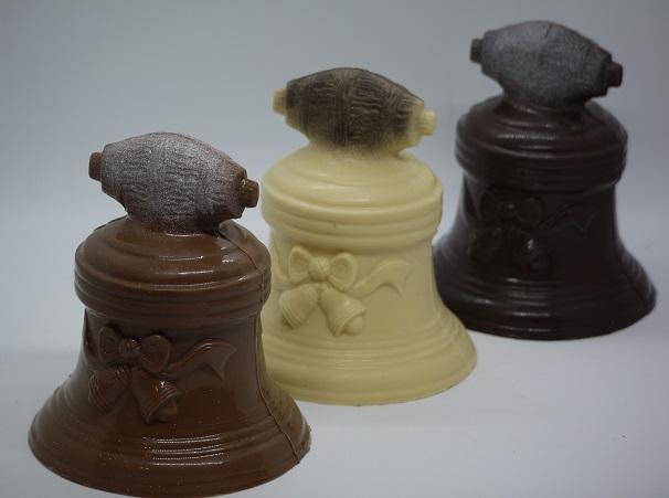 Cloches poignée artisan chocolatier Beauvais Oise