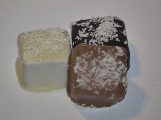 Praliné noix de coco chocolat au lait, Coco