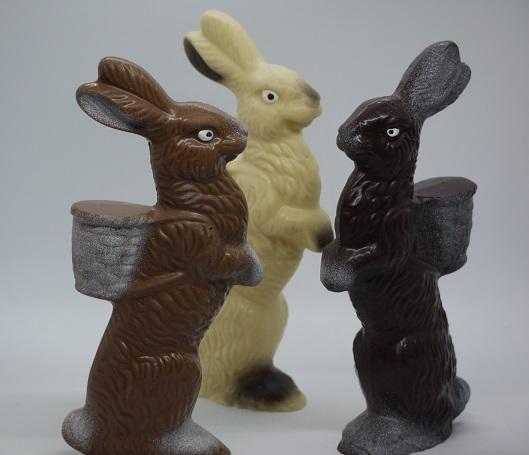 Lapins panier artisan chocolatier Beauvais Oise