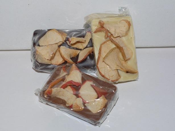 Mendiants chips pommes