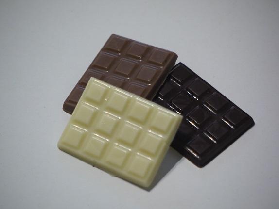 Mini tablettes, trois couleurs