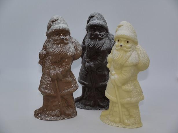Père Noël bâton, artisan chocolatier Oise, Beauvais