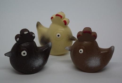 Petites poules chocolat artisanal Beauvais Oise