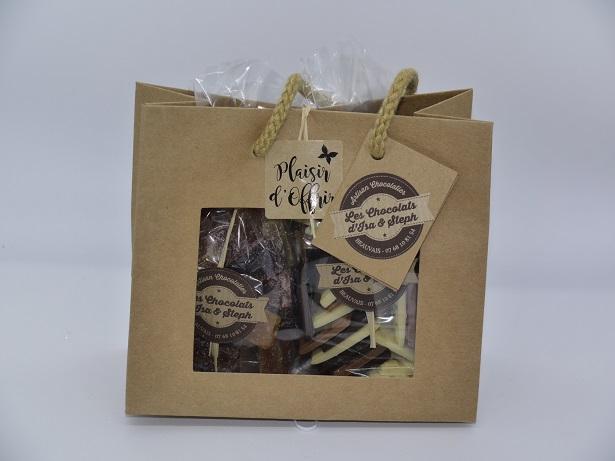 Coffret cadeau 2x150g, chocolat artisanal Beauvais oise