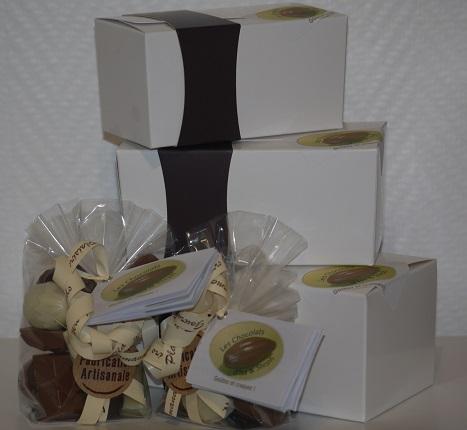 Sachets et ballotins bonbons chocolat artisanal Beauvais Oise