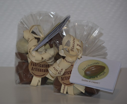 Sachets bonbons chocolat artisanal Beauvais Oise