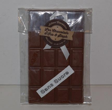 Chocolat au lait Sans sucre, pour diabétique, Beauvais Oise