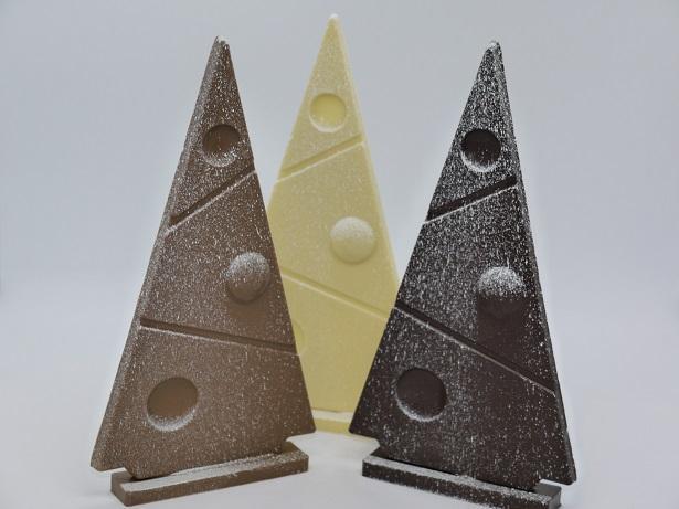 Sapin plat, chocolats artisanaux Beauvais OIse