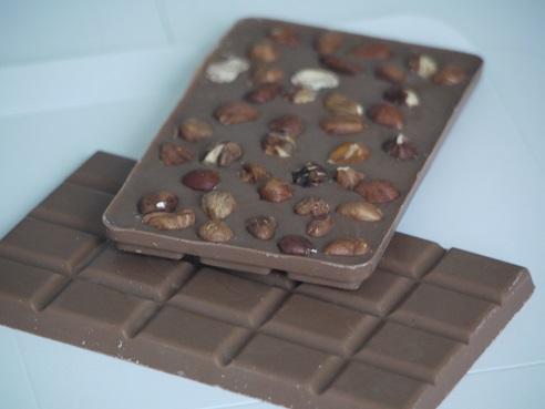 Tablettes au chocolat au lait : nature ou agrémentée
